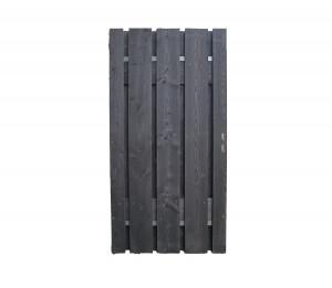 https://www.schutting.nl/bestanden/cache/afb/32188/Poort-110cm-fijnbezaagd-XL-20x200mm-Zwart-Douglas-Stalen-Frame-110x180cm.jpg