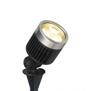 *SCOPE WW Spot 12V/3W LED Alu. Charcoal grey
