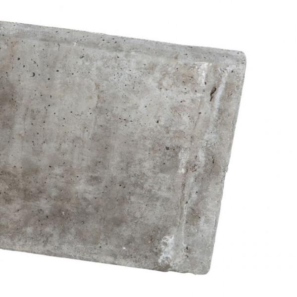 *Betonplaat BPG184 Grijs 25.5x184cm
