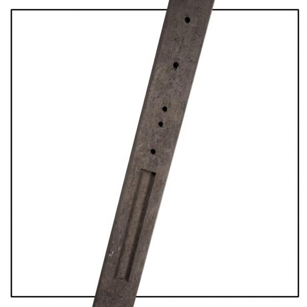 *Betonpaal Recht 90cm UR190 Antraciet 10x10x190cm