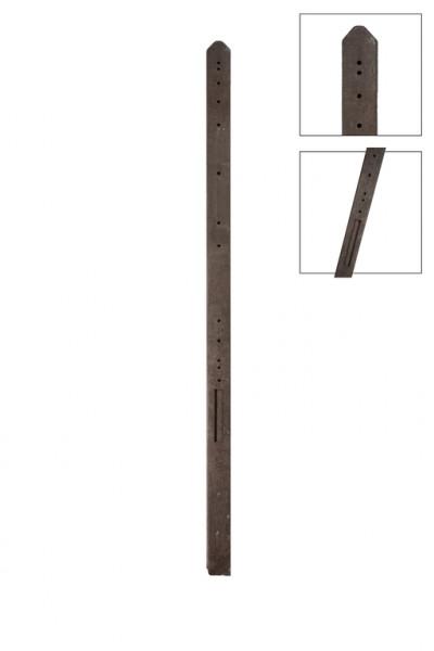 *Betonpaal Recht 180cm UR280 Antraciet 10x10x280cm