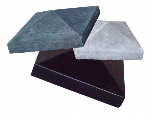 Afdekmuts 118x118cm glad grijs