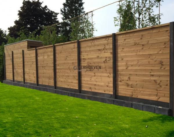 Combiwood Douglas schermdeel 180x180cm. geïmpregneerd