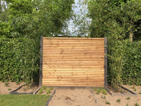 Combiwood Douglas Rhombus schermdeel 220x180cm. geïmpregneerd