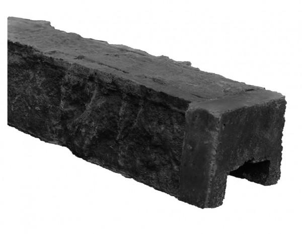 Betonnen afdekkap Granietmotief Antraciet 180 cm