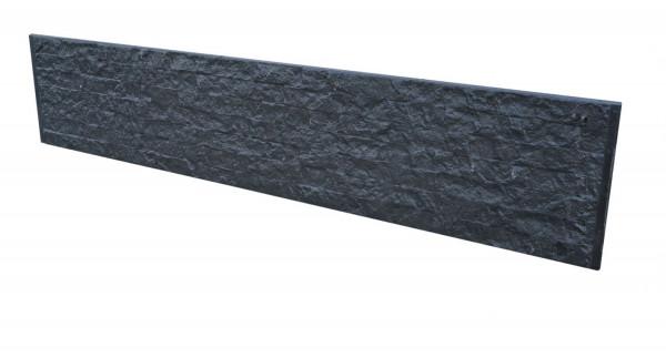 Betonplaat Granietmotief dubbelzijdig Antraciet 184x36x4.8cm