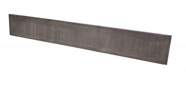Betonplaat Glad dubbelzijdig Bruin 184x26x3.4cm (levertijd ca. 4 weken)