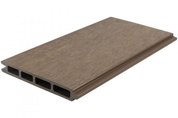 Easy-Fence Scherm (13x wpc plank, begin/eindprofiel + bevestiging) 197(b)x198(h)cm Light