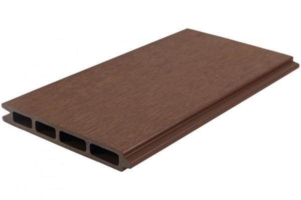 Easy-Fence Scherm (12x wpc plank, begin/eindprofiel + bevestiging) 197(b)x183(h)cm Brown