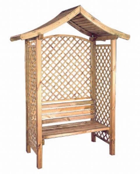 chinese pergola met bank grenen 180x220cm voorraad 1. Black Bedroom Furniture Sets. Home Design Ideas