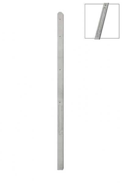*Betonpaal Recht voor 2 betonplaten UR2P Grijs 10x10x309cm